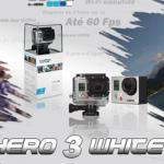 GoPro Hero3 White Edition disponível