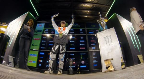 3x Campeão do Monster Energy Supercross, Ryan Villopoto